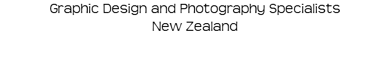 Graphic Design and Photography Specialists New Zealand